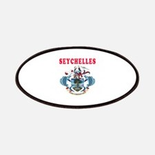 Seychelles Coat Of Arms Designs Patches
