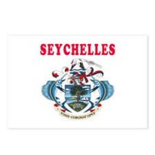 Seychelles Coat Of Arms Designs Postcards (Package