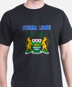 Sierra Leone Coat Of Arms Designs T-Shirt