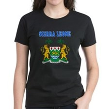 Sierra Leone Coat Of Arms Designs Tee
