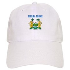 Sierra Leone Coat Of Arms Designs Baseball Cap