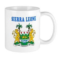 Sierra Leone Coat Of Arms Designs Mug