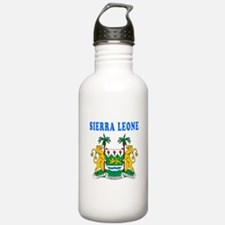 Sierra Leone Coat Of Arms Designs Water Bottle