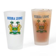 Sierra Leone Coat Of Arms Designs Drinking Glass