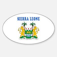 Sierra Leone Coat Of Arms Designs Decal