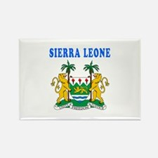 Sierra Leone Coat Of Arms Designs Rectangle Magnet