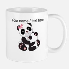 Custom Panda Baby And Mother Mug