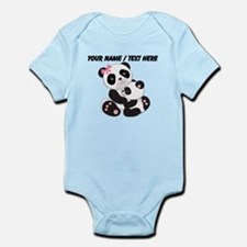 Custom Panda Baby And Mother Body Suit