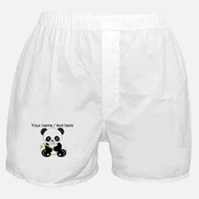 Custom Panda With Bamboo Boxer Shorts