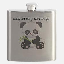 Custom Panda With Bamboo Flask