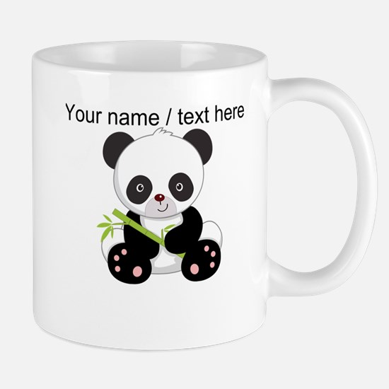 Custom Panda With Bamboo Mug