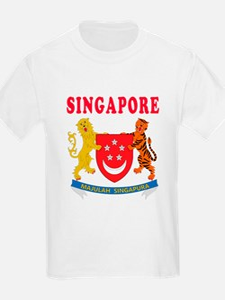 Singapore Coat Of Arms Designs T-Shirt