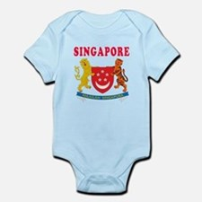 Singapore Coat Of Arms Designs Onesie