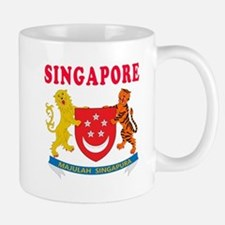 Singapore Coat Of Arms Designs Mug