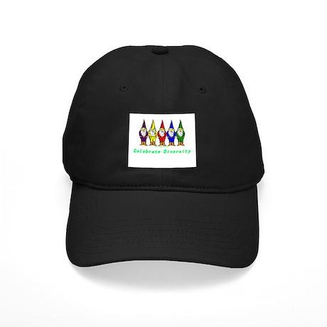 Celebrate Diversity Black Cap