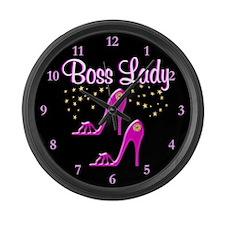 MS BOSS LADY Large Wall Clock