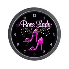 MS BOSS LADY Wall Clock