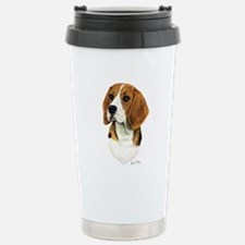 Beagle Stainless Steel Travel Mug