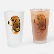 Beagle Drinking Glass