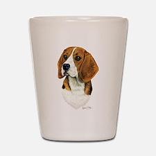 Beagle Shot Glass