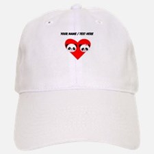 Custom Panda Boy And Girl Heart Baseball Baseball Baseball Cap