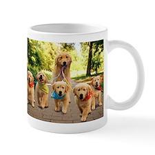 Mommy Walking Puppies Mug