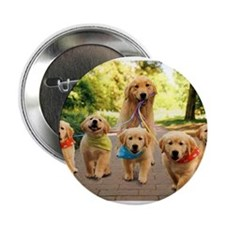 "Mommy Walking Puppies 2.25"" Button"