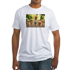 Mommy Walking Puppies T-Shirt