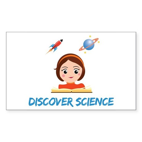 Discover science Sticker
