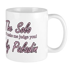 Soloholypaladin.com Logo Mug