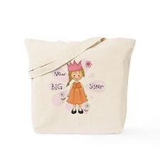 Blond Princess Big Sister Tote Bag