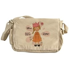 Blond Princess Big Sister Messenger Bag