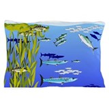 Bass fishing bedding Pillow Cases