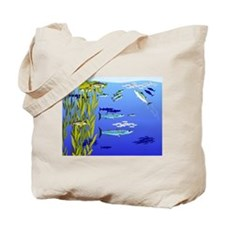 Kelp Edge Action ps Tote Bag