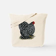 Cochin Black Mottled Hen Tote Bag