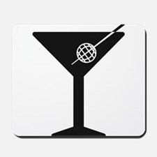 Drunken Geographer Logo DARK Mousepad