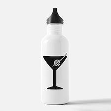 Drunken Geographer Logo DARK Water Bottle