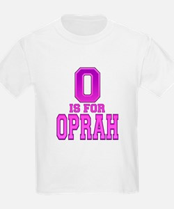 O is for Oprah Kids T-Shirt
