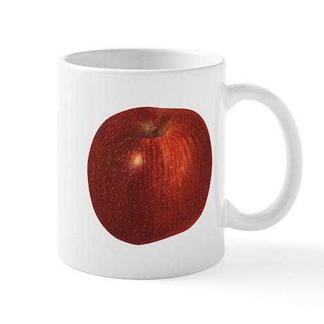 Vintage Food, Red Delicious Organic Apple Fruit Mu