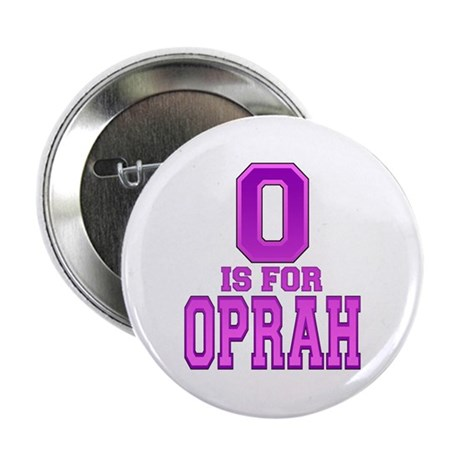 O is for Oprah Button