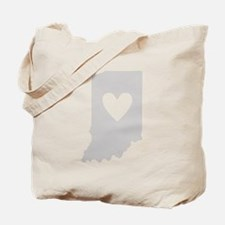 Heart Indiana Tote Bag