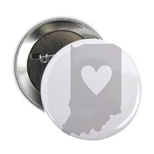 """Heart Indiana 2.25"""" Button"""