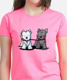 Terrier Walking Buddies Tee