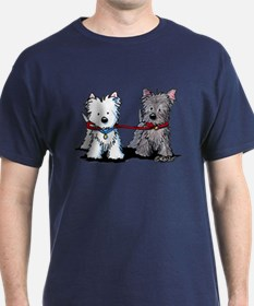 Terrier Walking Buddies T-Shirt