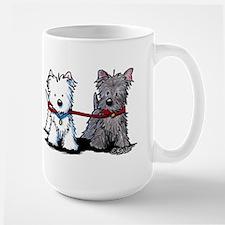 Terrier Walking Buddies Mug