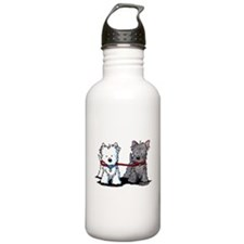 Terrier Walking Buddies Water Bottle