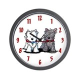 Terrier walking buddies Basic Clocks