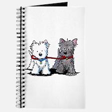 Terrier Walking Buddies Journal