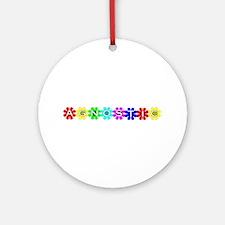 Agnostic Ornament (Round)
