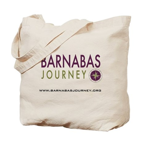 Barnabas Logo with Web Tote Bag
